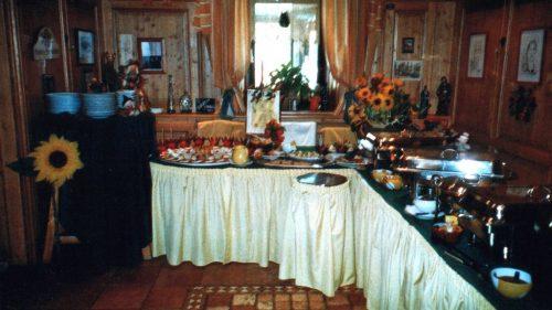 Herbstliches Buffet